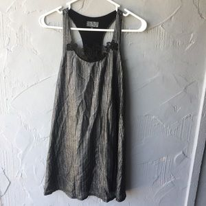 Lucca Couture Metallic dress size small